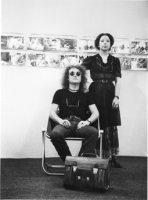 Avec Orlan. Foire de Bologne 1979